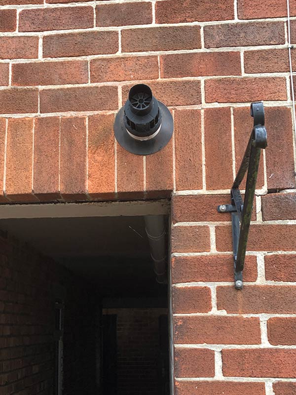 flue fitted