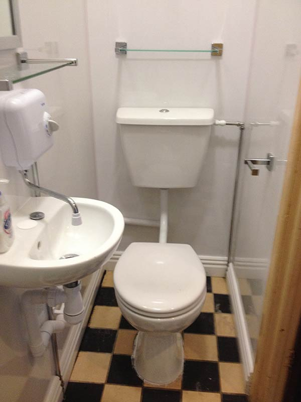 toilets fitted