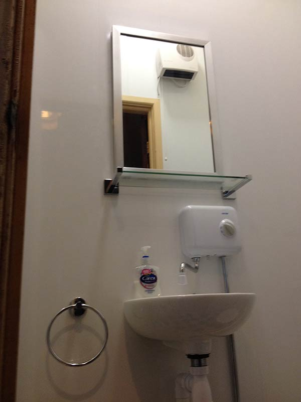 wash room fitted